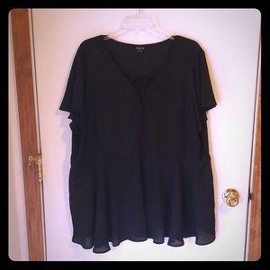 Torrid black blouse
